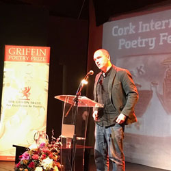 Marek Kazmierski at Cork International Poetry Festival